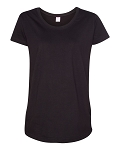 Camping World Ladies Maternity Scoop Neck Fine Jersey Tee